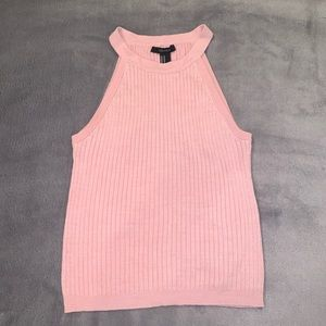 pink halter top from forever 21